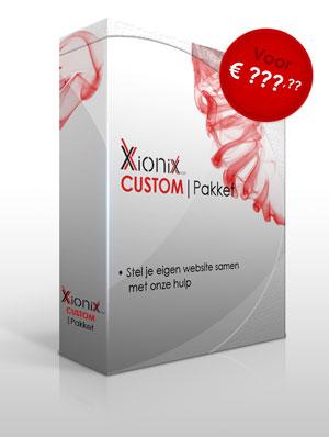 Het Xionix CUSTOM pakket