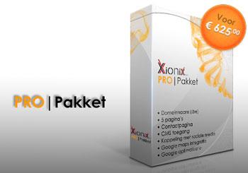 Het Xionix PRO pakket